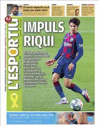 capa L'Esportiu de 23 julho 2020