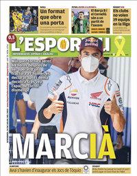 capa L'Esportiu de 24 julho 2020