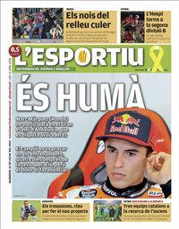 capa L'Esportiu de 26 julho 2020