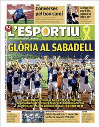 capa L'Esportiu de 27 julho 2020