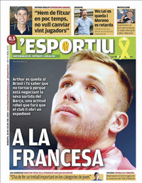 capa L'Esportiu de 28 julho 2020