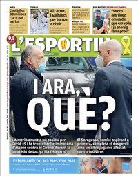 capa L'Esportiu de 30 julho 2020