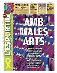 capa L'Esportiu de 31 julho 2020