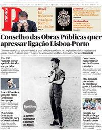 capa Público de 10 julho 2020