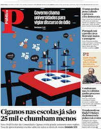 capa Público de 12 julho 2020