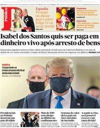 capa Público de 13 julho 2020