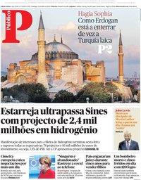 capa Público de 19 julho 2020