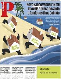 capa Público de 28 julho 2020