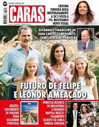 capa Revista Caras de 23 julho 2020