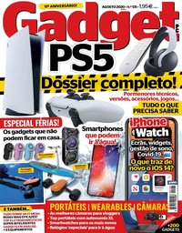 capa de Revista Gadget e PC