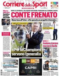 capa Corriere dello Sport de 4 agosto 2020