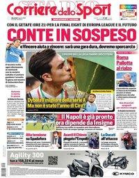 capa Corriere dello Sport de 5 agosto 2020