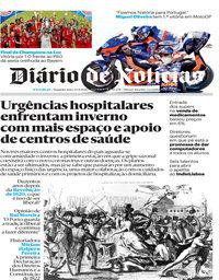 capa Diário de Notícias de 24 agosto 2020