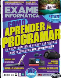 capa de Exame Informática
