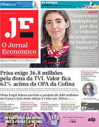 capa Jornal Económico de 14 agosto 2020