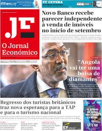 capa Jornal Económico de 21 agosto 2020