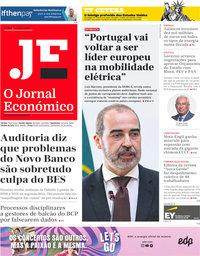capa Jornal Económico de 28 agosto 2020