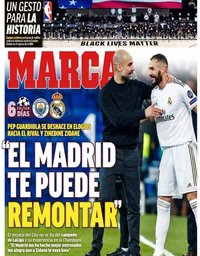 capa Jornal Marca de 1 agosto 2020