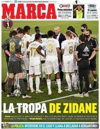 capa Jornal Marca de 6 agosto 2020