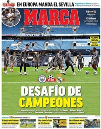 capa Jornal Marca de 7 agosto 2020
