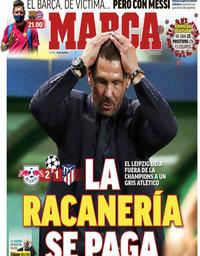 capa Jornal Marca de 14 agosto 2020