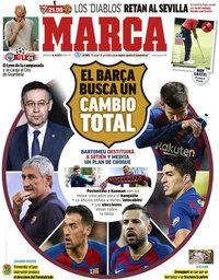 capa Jornal Marca de 16 agosto 2020