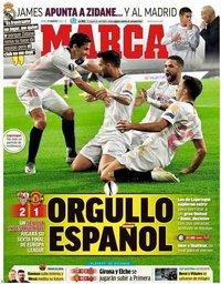 capa Jornal Marca de 17 agosto 2020