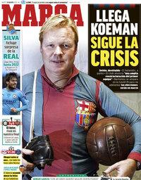 capa Jornal Marca de 18 agosto 2020
