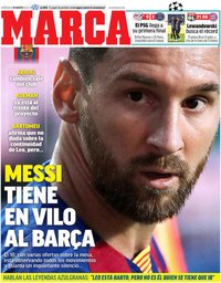 capa Jornal Marca de 19 agosto 2020