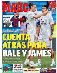capa Jornal Marca de 20 agosto 2020
