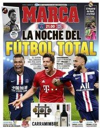capa Jornal Marca de 23 agosto 2020