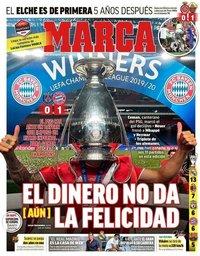 capa Jornal Marca de 24 agosto 2020