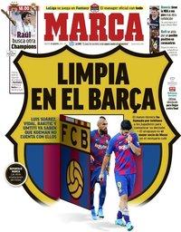 capa Jornal Marca de 25 agosto 2020
