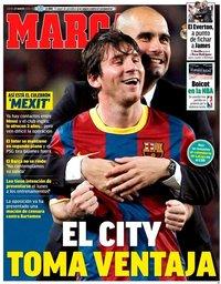 capa Jornal Marca de 27 agosto 2020