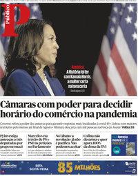 capa Público de 13 agosto 2020