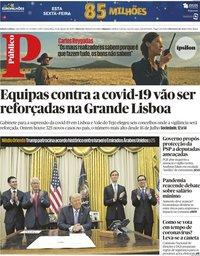 capa Público de 14 agosto 2020