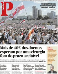 capa Público de 17 agosto 2020
