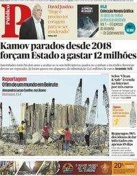 capa Público de 22 agosto 2020