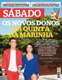 capa Revista Sábado de 13 agosto 2020