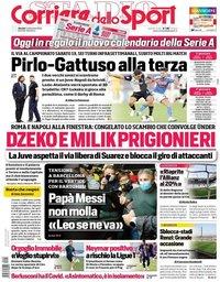capa Corriere dello Sport de 3 setembro 2020
