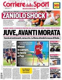 capa Corriere dello Sport de 8 setembro 2020