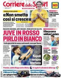 capa Corriere dello Sport de 12 setembro 2020