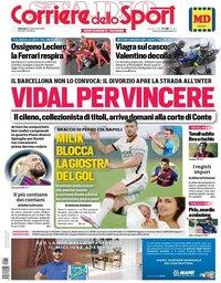 capa Corriere dello Sport de 13 setembro 2020