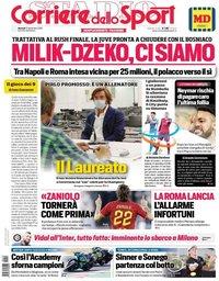 capa Corriere dello Sport de 15 setembro 2020