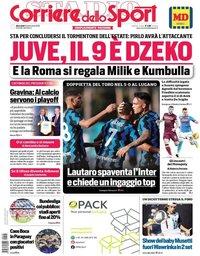 capa Corriere dello Sport de 16 setembro 2020