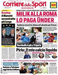 capa Corriere dello Sport de 17 setembro 2020