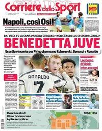 capa Corriere dello Sport de 21 setembro 2020