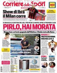 capa Corriere dello Sport de 22 setembro 2020