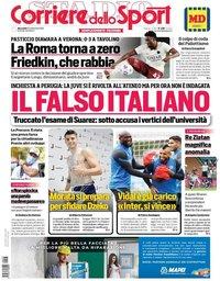 capa Corriere dello Sport de 23 setembro 2020