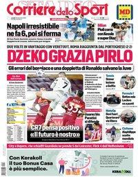 capa Corriere dello Sport de 28 setembro 2020
